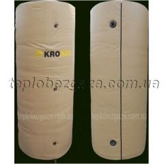 Теплоакумулятор з 2-ма теплообмінниками Kronas 1500л з ізоляцією
