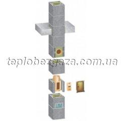 Комплект одноходового керамического дымохода Schiedel UNI D400 2 пм