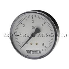 Манометр аксіальний Watts F+R150 80/10 1/4