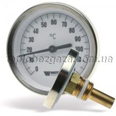 Термометр біметалевий Watts F+R801 SD 63/120/50