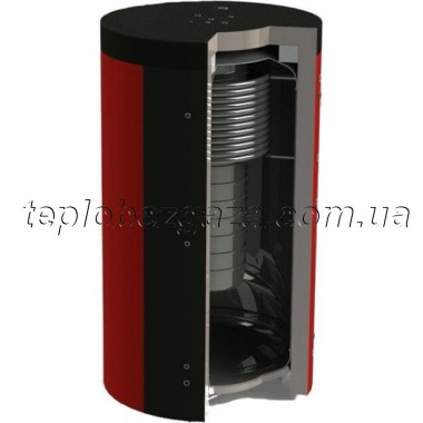 Акумулюючий бак (ємність) Kuydych ЕАB-10-1500-X/Y (250 л) з ізоляцією 80 мм