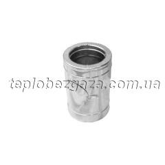 Ревизия для дымохода нерж/оцинк Версия Люкс D-1000/1100 толщина 0,8 мм
