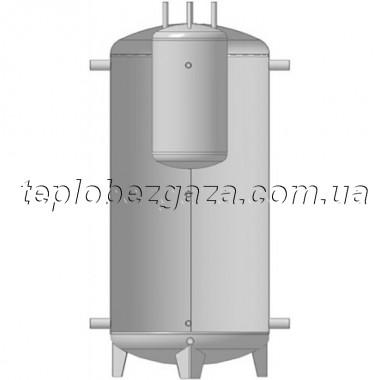 Акумулюючий бак (ємність) Kuydych ЕАB-00-500-X/Y (160 л) без ізоляції