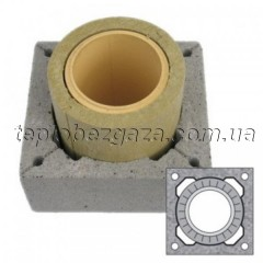 Одноходовий керамічний димохід Schiedel UNI D140 L8