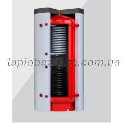Теплоакумулятор з 2-ма теплообмінниками Kronas 1500л без ізоляції