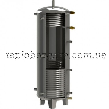 Аккумулирующий бак (емкость) Kuydych ЕАI-11-1500-X/Y (d 25 мм) с изоляцией 100 мм