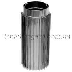 Труба-радіатор з нерж. сталі Версія Люкс D-120 мм товщина 0,8 мм