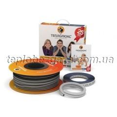 Теплый пол Теплолюкс одножильный кабель 20ТЛОЭ 2-63