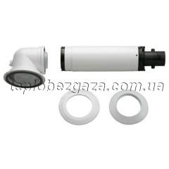 Коаксіальний димохід Bosch AZB 916 1м.
