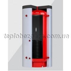 Теплоаккумулятор с теплообменником Kronas 1500л без изоляции