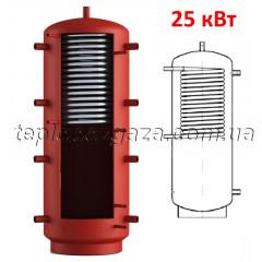 Теплоаккумулятор Energy 1400л с верхним ГВС-теплообменником 25 кВт без утепления (буфер Энергия)