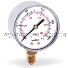 Манометр радіальний Watts F+R260 100/60