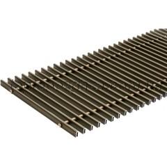 Решетка дюралюминиевая Конвектор 240х2750х125/85