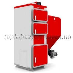 Котел з автоподачею Heiztechnik Q Bio Duo 48 кВт