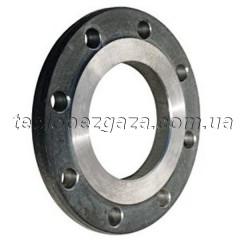 Фланець сталевий плоский Ду 125 PN 1,0 МПа