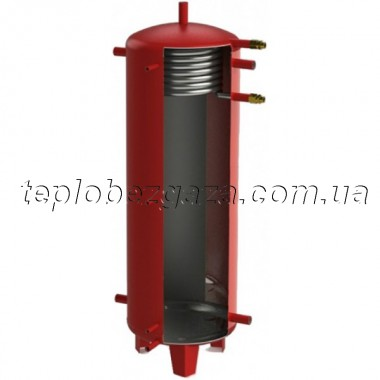 Акумулюючий бак (ємність) Kuydych ЕАI-10-1500-X/Y (d 25 мм) з ізоляцією 100 мм