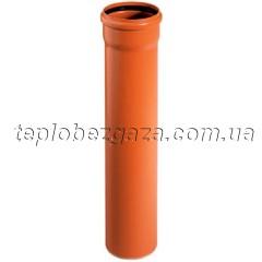 Труба для наружной канализации Ostendorf KG SN4 110x1000
