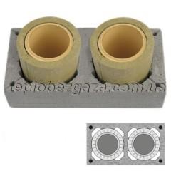 Двоходовий керамічний димохід Schiedel UNI D160/200 L 0.33 пм
