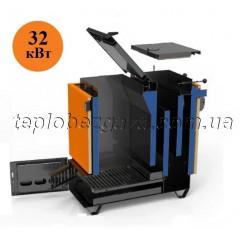 Твердопаливний котел Холмова Ретра 32 кВт економний піролізний тривалого горіння Retra 6М