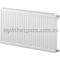 Сталевий радіатор Kingrad Compact 22 H600 L400/бокове підключення