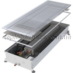 Конвектор внутрішньопідлоговий Minib T60 1250/65/243 (з вентилятором)