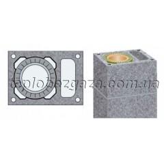 Одноходовий керамічний димохід з вентиляційним каналом Schiedel UNI D200+V L10