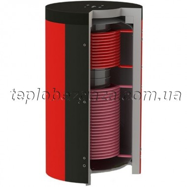 Акумулюючий бак (ємність) Kuydych ЕАB-11-500-X/Y (85 л) з ізоляцією 100 мм