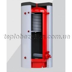 Теплоаккумулятор с теплообменником ГВС Kronas 800л без изоляции