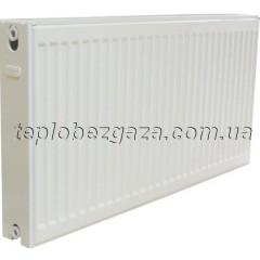 Сталевий радіатор Demrad 22 H500 L1400/бокове підключення