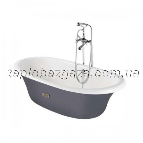 Ванна чугунная Roca Newcast 170x85 (серая)